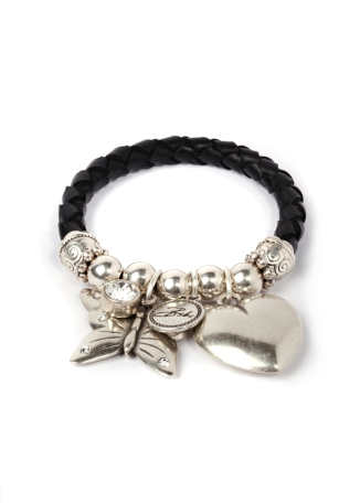 The Bibi Bijoux Bjork Puff Heart & Butterfly charm Bracelet. Was £70.00, is now £35.00 courtesy of BeDazzled Jewellery.