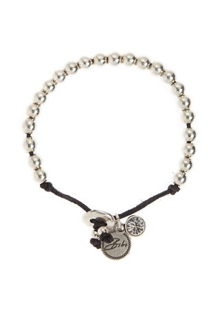 Bibi Bijoux Greta Bracelet. Features a collection of silver-tone beads, an engraved Bibi charm and Swarovski crystal elements threaded onto a leather cord. £29.50 at BeDazzled Jewellery